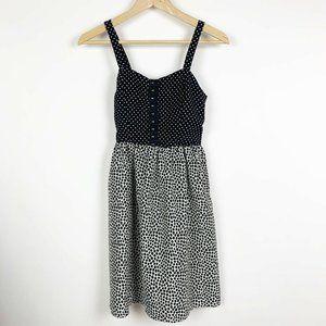 Xhilaration Spaghetti Strap Polka Dot Pocket Dress